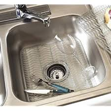 amazon com rubbermaid sink protector with built in microban