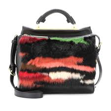 3 1 phillip lim ryder small rabbit and leather shoulder bag lyst