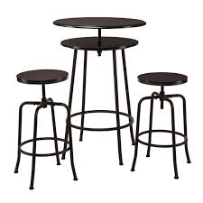 Wayfair Kitchen Bistro Sets by Amazon Com Holly U0026 Martin Kalomar 3pc Adjustable Pub Table