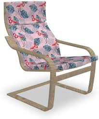 Amazon.com: Lunarable Flamingo Poäng Armchair Slipcover ... Ikea Ektorp Armchair Chair Slipcover Cover Nordvalla Dark Gray New Sealed Pong Birch Veneer Hillared Beige Poang Poang Chair Covers Indoor Chairs And Ottoman Replacement Cushions Solid Teal Blue Suede Childs Jordansneakersco Ikea And Leather Fniture Tables Hexagon Blush Pink Turquoise Seat