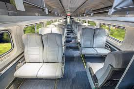 Does Amtrak Trains Have Bathrooms by 450 Amtrak Trains Are Getting An Interior Makeover Curbed