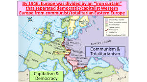 Iron Curtain Speech 1946 Definition by World War Ii Increased Tensions Between The Usa And Ussr Stalin
