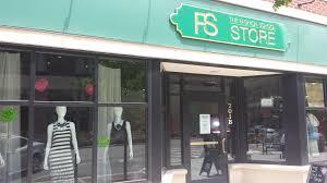 Fashion School Store Exterior