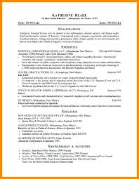 Sample Criminal Justice Resume Bachelors Degree In For