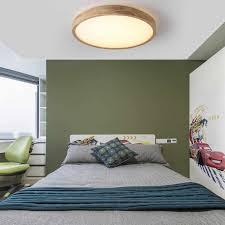 moderne ultra dünne 7cm holz decke le fernbedienung acryl lenschirm decke licht wohnzimmer schlafzimmer dekoration beleuchtung