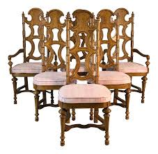 Drexel Furniture Co High Back Dining Chairs, Set Of 6 French Highback Ding Chairs Beautifully Designed Louis Xv High Back Ding Chairs Beech Wood Late 19th Century Sku 9622 Whtear Reproduction Fniture Arden Chair Skyline John Lewis Partners Tropez Set Of Six Mid Modern Walnut Dramatic 5 Kamron Tufted Upholstered Faye Grey Faux Leather Pair With Chrome Legs Lssbought Fabric 2 Gray