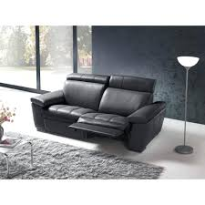 canapé relax discount articles with canape dangle malaga microfibre noir tag canape d