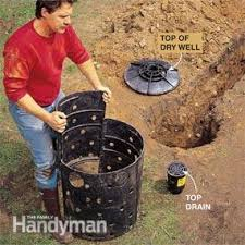 install an in ground drainage system family handyman