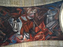 Jose Clemente Orozco Murales by Why There Are No Statues Of Cortés In Mexico Mural By José