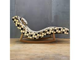 100 Pearsall Chaise Lounge Chair Rocking MidCentury Apartment