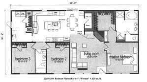Triple Wide Modular Homes Floor Plans by Triple Wide Manufactured Home Floor Plans Interactive Floor Plan