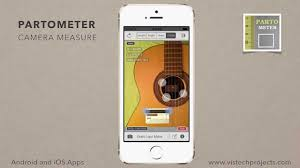 Partometer camera measure app for iPhone and iPad Circle Mode