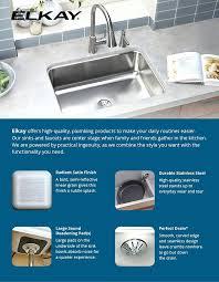 Elkay Crosstown Bar Sink by Elkay Stainless Kitchen Sinks Crosstown Stainless Steel In Double