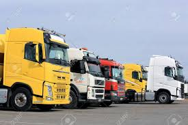 FORSSA, FINLAND - APRIL 9, 2017: Line Up Of Colorful New And.. Stock ... Used Lvo Truck Head Volvo Donates Fh13 To Transaid Commercial Motor New Trucks Used For Sale At Wheeling Truck Center With Trucks For Sale Market Llc Fm 12 380 Trucksnl Used Lvo Trucks For Sale China Head Fh12 Fl6 220 4x2 Euro 2 Nebim Ari Legacy Sleepers Lieto Finland November 14 2015 Lineup Of Three Lounsbury Heavy Dealership In Mcton Nb