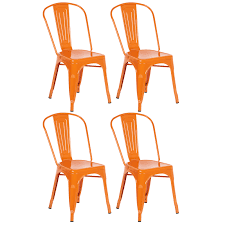 Hartleys Orange Industrial Metal Dining Chair Cafe/Bistro Chairs ... Saddle Leather Ding Chair Garza Marfa Jupiter White And Orange Plastic Modern Chairs Set Of 2 By Black Metal Cafe Fniture Buy Eiffel Inspired White Orange With Legs Grand Tuscany Total Sizes Wd325xh36 Patio Urban Kitchen Shop Asbury With Chromed Velvet Vivian Of World Market Industrial Design Slat Back Products Flash Indoor Outdoor Table 4 Stack