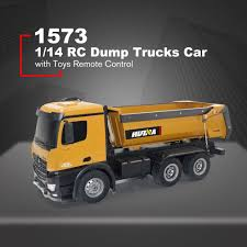 HUINA TOYS 1573 1/14 10CH Alloy RC Dump Trucks Engineering ...