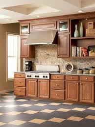 Best Floor For Kitchen by Linoleum Flooring In The Kitchen Hgtv