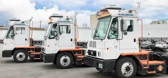 100 Fleet Trucks Deployed Markets Pure Electric Terminal Orange EV