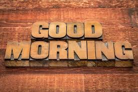 Download Good Morning Typography Stock Photo Image Of Text Type