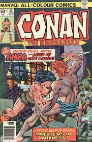 Conan The Barbarian 1970 UK Edition 63
