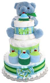 Amazon.com : 3 Tier Diaper Cake - Blue Teddy Bear Diaper Cake For ... Fire Truck Baby Shower The Queen Of Showers Journey Parenthood Firetruck Party Decorations Diaper Cakes Diapering General Information Archives Gifts Singapore Awesome How Do You Make For Monster Bedding Sets Bedroom Bunk Bed Boy Firetruckdalmation Cakebaby