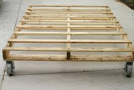 How To Make A Platform Bed Frame From Pallets by 13 Inexpensive Wooden Pallet Bed Frame 101 Pallets