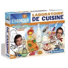 clementoni c est pas sorcier laboratoire de cuisine jeux