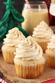 Eggnog Cupcakes So Moist And Full Of Perfect Dessert For Christmas