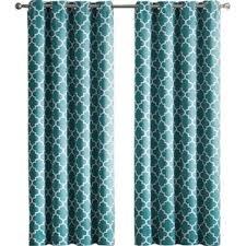 Moroccan Lattice Curtain Panels by Geometric Curtains U0026 Drapes You U0027ll Love Wayfair