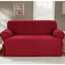 furniture seersucker couch denim sofa slipcover crawford sofa
