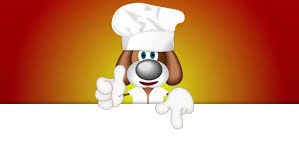 animation cuisine pup puppy cook cooking hat chef cuisine stock