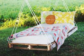 DIY Pallet Swing Bed  The Merrythought
