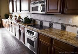 Kitchen Backsplash Ideas With Oak Cabinets by Kitchen Surprising 20 Best Kitchen Backsplash Ideas Dark