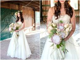 Wedding Rustic Decorations Peach Rose And Blush Bouquet Fall Ideas