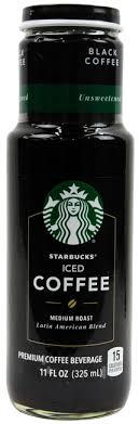 Starbucks Iced Coffee Unsweetened Black 11oz