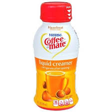 Liquid Coffee Creamer Nestle Mate Hazelnut 8 Oz Flavors