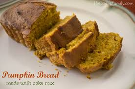 Pumpkin Cake Mix by Pumpkin Bread Made With Cake Mix The Coers Family