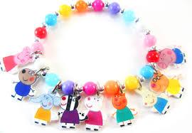 Peppa Pig With Stars Pumpkin Stencil by Peppa Pig Charm Bracelet Peppa Pig Jewelry Peppa Pig Party