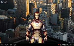 Halloween Live Wallpapers Apk by Iron Man 3 Live Wallpaper Android Reviews At Android Quality Index