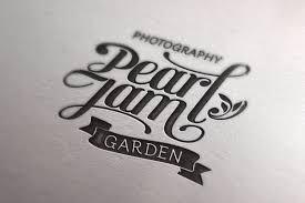 Pearl Jam Garden – Wedding Studio pearljam garden logo mockup pearljam garden signboard pearljam garden cip mockup