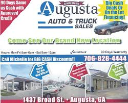 100 Trucks And More Augusta Ga Auto Truck Sales LLC Home Georgia