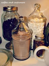 There Are Jars Of Semi Sweet Chocolate Chips Marshmallows Hot Mix And Mini Cinnamon Sticks I Got The Idea From My Favorite Blog All Time