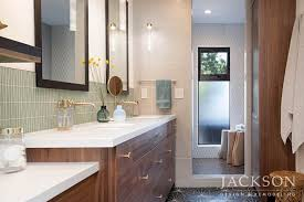 Instead Of A Tub The Clients Chose An Exceptionally Large Spa Like Shower With Window Designed To Align Perfectly Opening