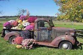 Flower Truck Bed I Want To Do This In My Back Yard Garden Have QUICK Find A Check Old