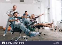Joyful Happy People Sitting In The Office Chairs Stock Photo ... Chairs Office Chair Mat Fniture For Heavy Person Computer Desk Best For Back Pain 2019 Start Standing Tall People Man Race Female And Male Business Ride In The China Senior Executive Lumbar Support Director How To Get 2 Michelle Dockery Star Products Burgundy Leather 300ec4 The Joyful Happy People Sitting Office Chairs Stock Photo When Most Look They Tend Forget Or Pay Allegheny County Pennsylvania With Royalty Free Cliparts Vectors Ergonomic Short Duty