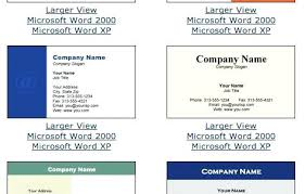 Business Cards Templates Windows Resume Free Download Card Template Microsoft Office