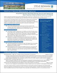 National Award Winning Executive Resume Examples Cover Letter Infographic Biography And More