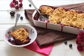 recette cobbler aux fruits rouges dessert aux fruits