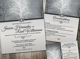 Winter Wedding Invitations Unique Wonderland Invitation Rsvp And By Oddlotpaperie
