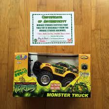 100 Teenage Mutant Ninja Turtle Monster Truck 2008 NKOK Inc TMNT S Radio Controlled R
